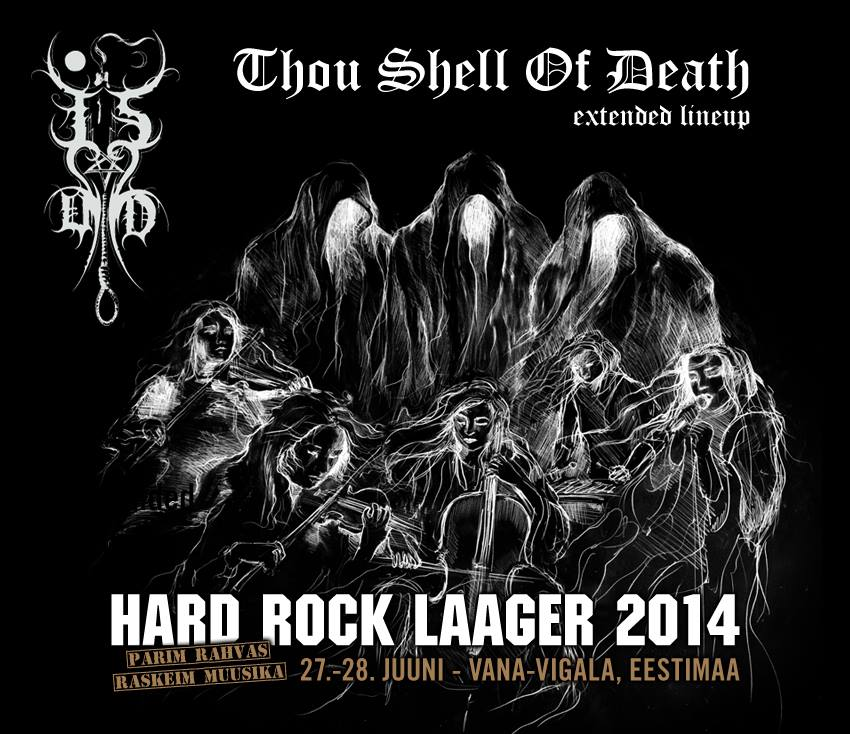 Thou Shell of Death - extended lineup @ Hard Rock Laager 2014