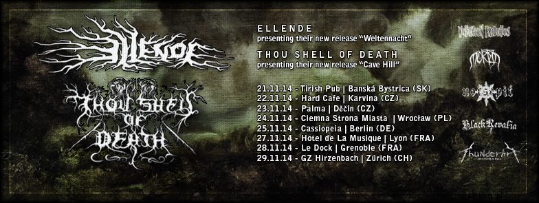 European Tour with Ellende (AT) 2014