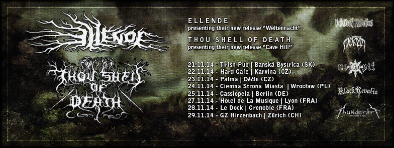 European Tour with Ellende (AT) 2014
